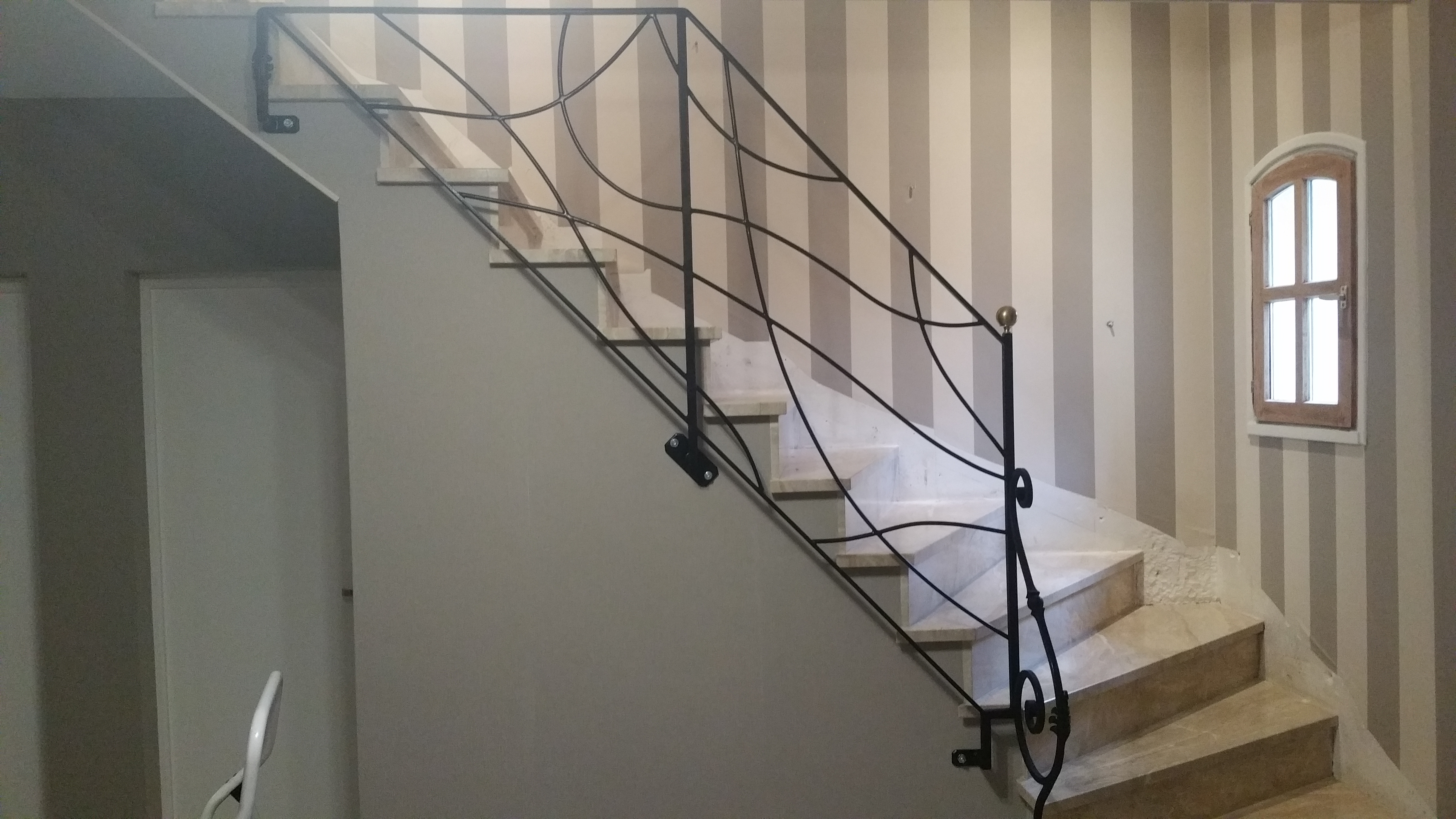 Gorps d'escalier